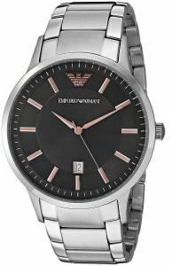 [エンポリオアルマーニ]Emporio Armani 腕時計 Dress Silver Quartz Watch AR2514 メンズ