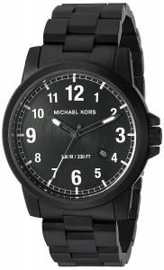 [マイケル・コース]Michael Kors 腕時計 Paxton Black Watch MK8532 メンズ