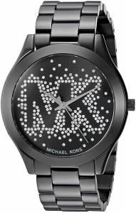 [マイケル・コース]Michael Kors  Micheal Kors Slim Runway Logo Black Watch MK3589
