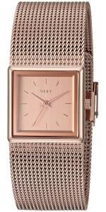 [ダナキャラン]DKNY  'Stonewall' Quartz Stainless Steel Casual Watch, Color:Rose NY2564