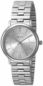[ダナキャラン]DKNY 'Willoughby' Quartz Stainless Steel Casual Watch, Color:SilverToned NY2547