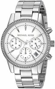 [マイケル・コース]Michael Kors 腕時計 Ritz SilverTone Watch MK6428 レディース