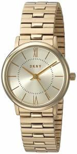 [ダナキャラン]DKNY  'Willoughby' Quartz Stainless Steel Casual Watch, Color:GoldToned NY2548