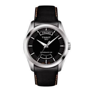 [ティソ]Tissot  Couturier Automatic Black Dial Watch T035.407.16.051.03 T0354071605103 メンズ