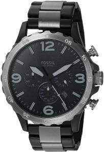 [フォッシル]Fossil  Nate 50mm Chronograph TwoTone Stainless Steel Watch JR1527 メンズ
