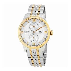 [ティソ]Tissot Le Locle Automatique Regulateur Silver Dial Twotone Gold Bracelet T0064282203802