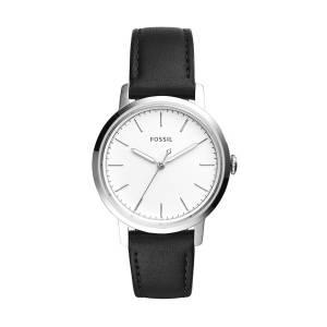 [フォッシル]Fossil 腕時計 Neely ThreeHand Black Leather Watch ES4186 レディース