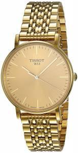 [ティソ]Tissot  TClassic Everytime Gold Dial Watch T109.410.33.021.00 T1094103302100 メンズ