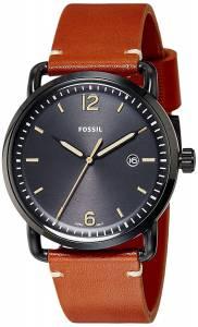 [フォッシル]Fossil  The Commuter ThreeHand Date Luggage Leather Watch FS5276 メンズ