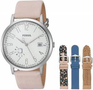 [フォッシル]Fossil  Vintage Muse ThreeHand Date Leather Watch Box Set ES4170SET