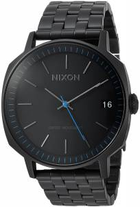 [ニクソン]NIXON 'Regent II SS' Swiss Quartz Stainless Steel Casual Watch, Color:Black A963001-00