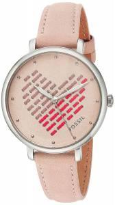 [フォッシル]Fossil 腕時計 Jacqueline ThreeHand Blush Leather Watch ES4153 レディース