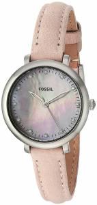 [フォッシル]Fossil 腕時計 Jacqueline ThreeHand Blush Leather Watch ES4154 レディース