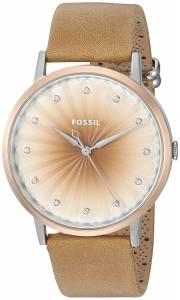 [フォッシル]Fossil 腕時計 Vintage Muse ThreeHand Tan Leather Watch ES4199 レディース