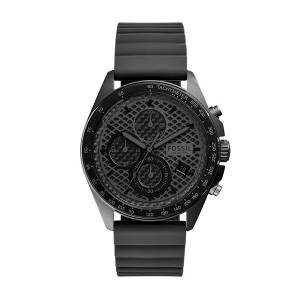 [フォッシル]Fossil 腕時計 Sport 54 Chronograph Gray Silicone Watch CH3080 メンズ