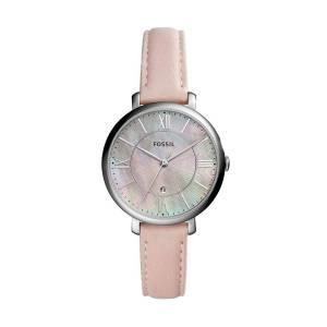 [フォッシル]Fossil  Jacqueline ThreeHand Date Blush Leather Watch ES4151 レディース