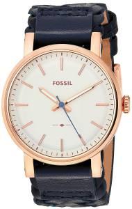 [フォッシル]Fossil  Original Boyfriend Sport ThreeHand Navy Leather Watch ES4182