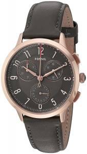 [フォッシル]Fossil  Abilene Sport Chronograph Gray Leather Watch CH3099 レディース