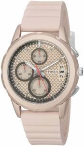 [フォッシル]Fossil  Modern Pursuit Sport Chronograph Blush Silicone Watch ES4172