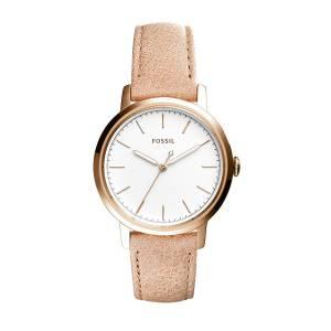 [フォッシル]Fossil 腕時計 Neely ThreeHand Sand Leather Watch ES4185 レディース