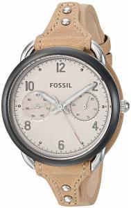 [フォッシル]Fossil 腕時計 Tailor Multifunction Tan Leather Watch ES4175 レディース