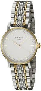 [ティソ]Tissot 腕時計 White Dial Two Tone Stainless Steel Watch T1092102203100