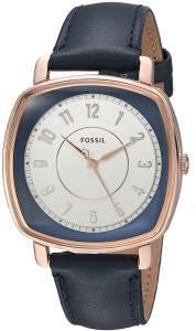 [フォッシル]Fossil 腕時計 Idealist ThreeHand Navy Leather Watch ES4197 レディース