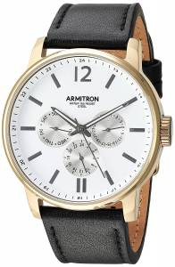 [アーミトロン]Armitron 腕時計 20/5217WTGPBK メンズ [並行輸入品]