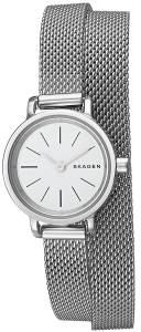 [スカーゲン]Skagen 腕時計 Hagen SteelMesh Double Wrap Watch SKW2601 レディース