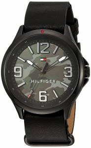 [トミー ヒルフィガー]Tommy Hilfiger 'SPORT' Quartz Resin and Leather Casual Watch, 1791333