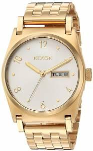 [ニクソン]NIXON  'Jane' Quartz Stainless Steel Casual Watch, Color:GoldToned A954504-00