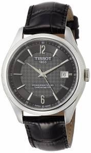 [ティソ]Tissot  TClassic Ballade Automatic Black Dial Watch T108.408.16.057.00 T1084081605700