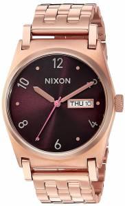 [ニクソン]NIXON  'Jane' Quartz Stainless Steel Casual Watch, Color:Rose GoldToned A9542617-00