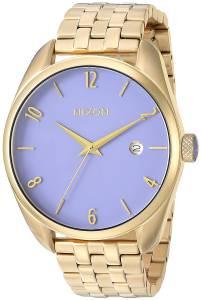 [ニクソン]NIXON  'Bullet' Quartz Stainless Steel Casual Watch, Color:GoldToned A4182624-00
