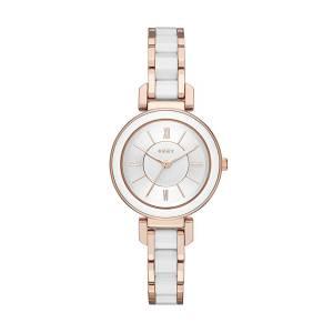 [ダナキャラン]DKNY 'Ellington' Quartz and StainlessSteelPlated Casual Watch, Color:Rose NY2589