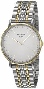 [ティソ]Tissot  TClassic White Dial Two Tone Stainless Steel Watch T1094102203100 メンズ