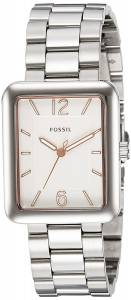 [フォッシル]Fossil 腕時計 Atwater ThreeHand Stainless Steel Watch ES4157 レディース