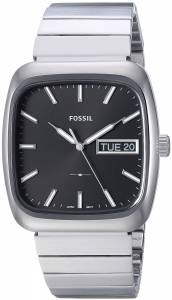 [フォッシル]Fossil  Rutherford ThreeHand DayDate Stainless Steel Watch FS5331 メンズ