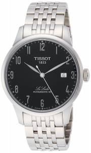 [ティソ]Tissot  Le Locle Automatic Black Dial Watch T006.407.11.052.00 T0064071105200 メンズ