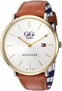 [トミー ヒルフィガー]Tommy Hilfiger 'GIGI' Quartz GoldTone and Leather Casual 1781749