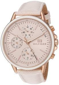 [トミー ヒルフィガー]Tommy Hilfiger 'Sport' Quartz Gold and Leather Casual Watch, 1781789