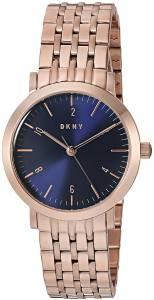 [ダナキャラン]DKNY 'Minetta' Quartz and StainlessSteelPlated Casual Watch, Color:Rose NY2615