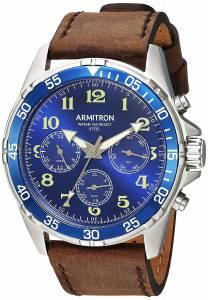 [アーミトロン]Armitron 腕時計 20/5220BLSVBN メンズ [並行輸入品]