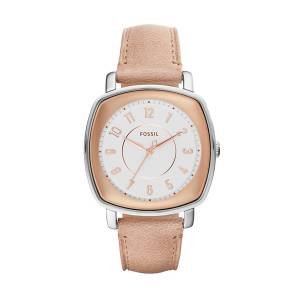[フォッシル]Fossil 腕時計 Idealist ThreeHand Sand Leather Watch ES4196 レディース