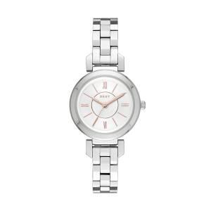 [ダナキャラン]DKNY 'Ellington' Quartz Stainless Steel Casual Watch, Color:SilverToned NY2591