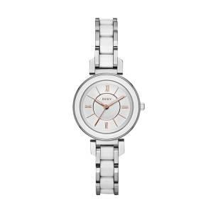 [ダナキャラン]DKNY 'Ellington' Quartz Stainless Steel Casual Watch, Color:SilverToned NY2588