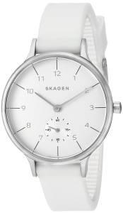 [スカーゲン]Skagen 腕時計 Anita White Silicone Watch SKW2603 レディース