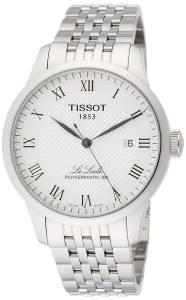[ティソ]Tissot  Powermatic 80 Silver Dial Stainless Steel Watch T0064071103300 メンズ