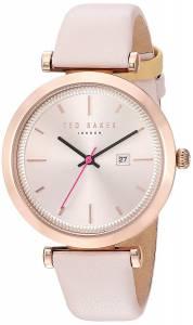 [テッド ベーカー]Ted Baker  'AVA' Quartz Stainless Steel and Leather Dress Watch, 10031518