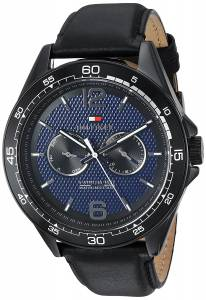 [トミー ヒルフィガー]Tommy Hilfiger 'Sophisticated Sport' Quartz Resin and Leather 1791368